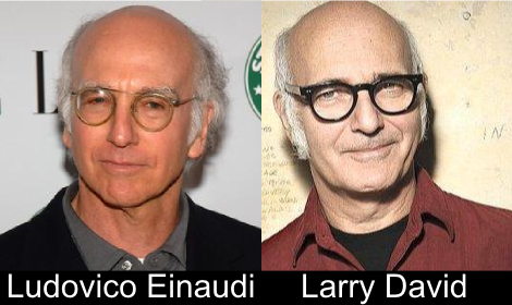 Ludovico Einaudi & Larry David