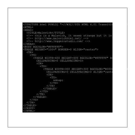 malevich+code